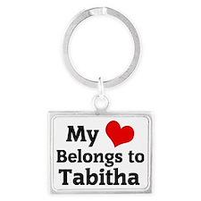 Tabitha Landscape Keychain
