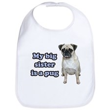 Big Sister Pug Bib
