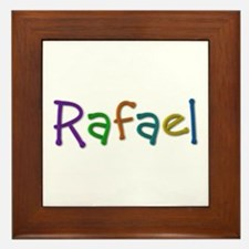Rafael Play Clay Framed Tile