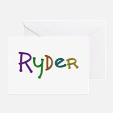 Ryder Play Clay Greeting Card