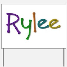 Rylee Play Clay Yard Sign