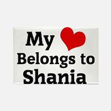 Shania Rectangle Magnet
