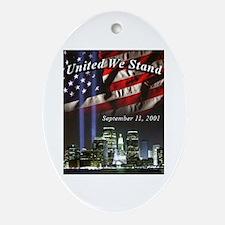 United We Stand II Oval Ornament