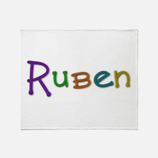 Ruben Play Clay Throw Blanket