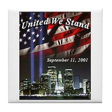 United We Stand II Tile Coaster