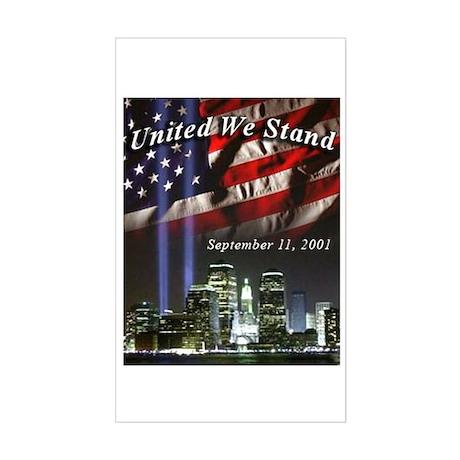 United We Stand II Rectangle Sticker