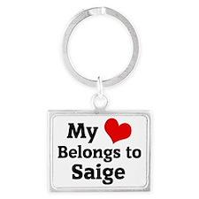 Saige Landscape Keychain