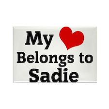 Sadie Rectangle Magnet