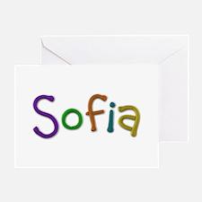Sofia Play Clay Greeting Card