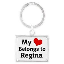Regina Landscape Keychain