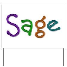 Sage Play Clay Yard Sign