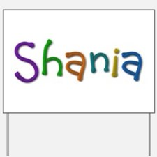 Shania Play Clay Yard Sign