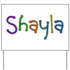 Shayla Play Clay Yard Sign