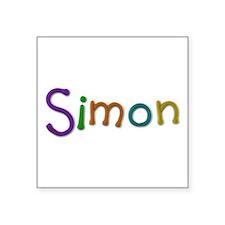 Simon Play Clay Square Sticker