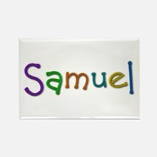 Samuel Play Clay Rectangle Magnet 10 Pack