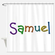 Samuel Play Clay Shower Curtain
