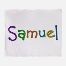 Samuel Play Clay Throw Blanket