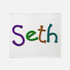 Seth Play Clay Throw Blanket