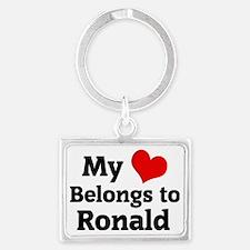 Ronald Landscape Keychain