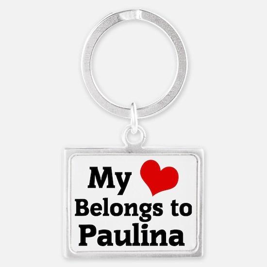 Paulina Landscape Keychain