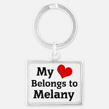 Melany Landscape Keychain