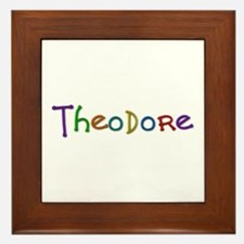 Theodore Play Clay Framed Tile