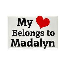 Madalyn Rectangle Magnet