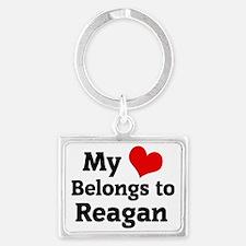 Reagan Landscape Keychain