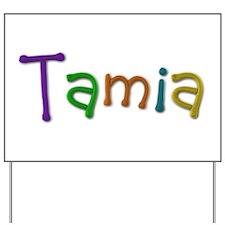 Tamia Play Clay Yard Sign