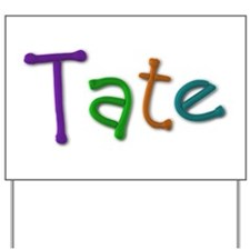 Tate Play Clay Yard Sign