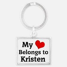 Kristen Landscape Keychain