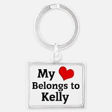 Kelly Landscape Keychain