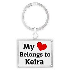 Keira Landscape Keychain