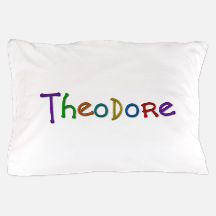 Theodore Play Clay Pillow Case