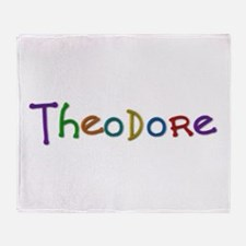 Theodore Play Clay Throw Blanket