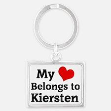 Kiersten Landscape Keychain