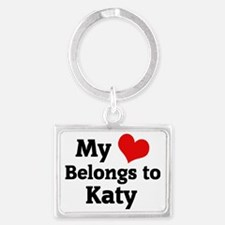 Katy Landscape Keychain