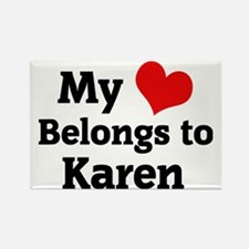 Karen Rectangle Magnet