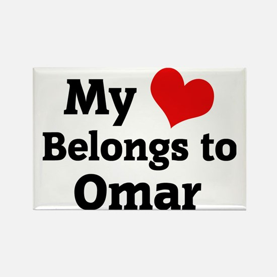 Omar Rectangle Magnet