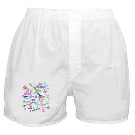 I Dance, Therefore, I Am ! Boxer Shorts