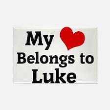 Luke Rectangle Magnet