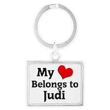 Judi Landscape Keychain