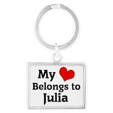 Julia Landscape Keychain