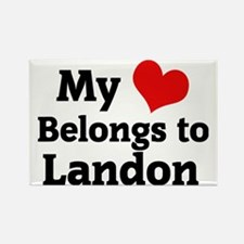 Landon Rectangle Magnet