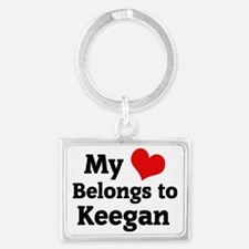 Keegan Landscape Keychain