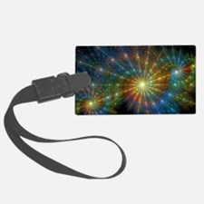 Cosmic Fractals Luggage Tag