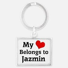 Jazmin Landscape Keychain