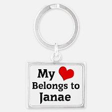 Janae Landscape Keychain