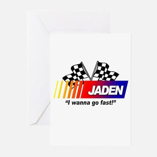 Racing - Jaden Greeting Cards (Pk of 10)