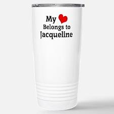 Jacqueline Stainless Steel Travel Mug